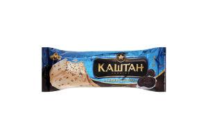 Морозиво 12% з темним печивом Каштан Хладик м/у 75г