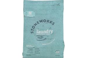 Grab Green Stoneworks Laundry Detergent Pods Rain - 50 CT