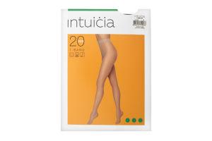 Колготки жіночі Intuicia T-Band 20den 4 antrazite