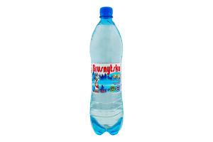 Вода мінеральна сильногазована Брусницька п/пл 1л