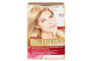 Крем-фарба для волосся Excellence Світло-русявий бежевий №8.13 L'Orеal