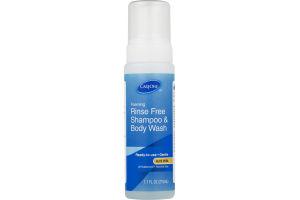 CareOne Foaming Rince Free Shampoo & Body Wash Aloe Vera