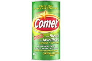 (CN) Comet Avec Javellisant Nettoyant Sans Phosphates, Comet With Bleach Cleanser Phosphate Free