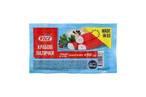 Палочки крабовые замороженные Vici в/у 550г