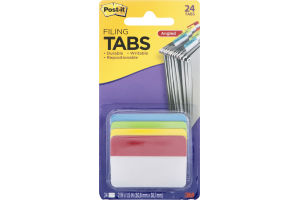 Post-it Filing Tabs Angled - 24 CT