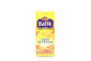 Чай черный Золото Цейлона Batik к/у 25х2г