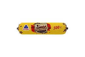 Мороженое Супер-шоколад Рудь м/у 500г
