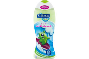 Softsoap Kids 2-in-1 Hair & Body Wash Monstrous Pear Splash