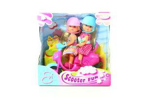 Куклы Evi Веселое путешествие на скутере Simba