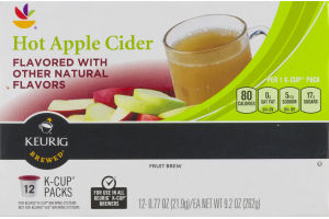 Ahold Hot Apple Cider K-Cup Packs - 12 CT