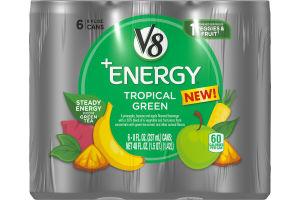 V8 +Energy® Tropical Green, 8 oz., 6 pack