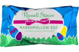 Russell Stover Marshmallow Egg Covered in Milk Chocolate