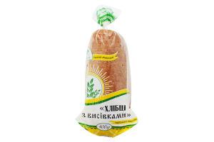 Хлебцы с отрубями Поліссяхліб м/у 400г