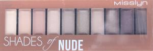 Misslyn палітра тіней д/повік Must-Have Nude 04