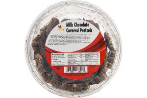 Ahold Milk Chocolate Covered Pretzels