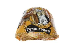 Хлеб в нарезке половинка Селянский Хліб Житомира м/у 400г