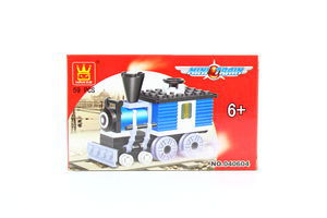 Іграшка Wange конструктор Паротяг 040604