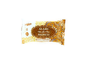 MARI e MONTI серветки вологі Premium Herbal Complex ромашка 15шт