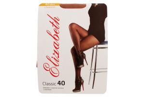 Колготки женские Elizabeth Classic 40den 3 visone