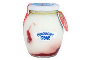 Йогурт 2.8% Клубника Десертный Волошкове поле с/б 350г