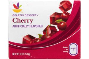 Ahold Gelatin Dessert Cherry