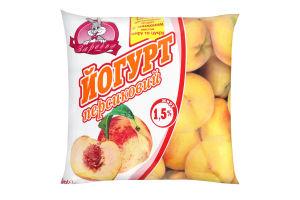 Йогурт 1.5% Персиковый Заречье м/у 400г