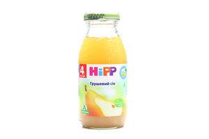 Сок для детей от 4мес грушевый Hipp бут 0.2л