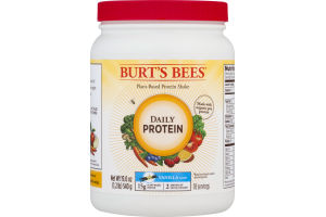 Burt's Bees Plant-Based Protein Shake Daily Protein Vanilla