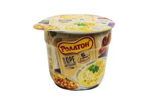 Пюре картопляне Смажена Цибуля Роллтон 37г