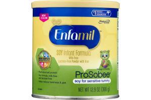 Enfamil Soy Infant Formula Milk-Free Lactose-Free Powder With Iron ProSobee