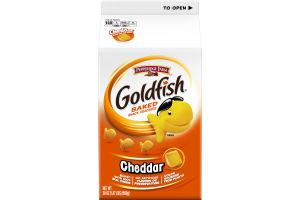 Pepperidge Farm Goldfish Baked Snack Crackers Cheddar
