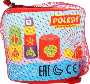 Іграшка для дітей від 3-х років №52353 Цікава пірамідка №3 Polesie 1шт