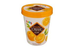 Морозиво Іспанський Помаранчо з апельсиновим наповнювачем Laska 500г