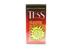 Чай Sunrise черный цейлон Tess 45г