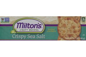 Milton's Craft Bakers Baked Crackers Crispy Sea Salt
