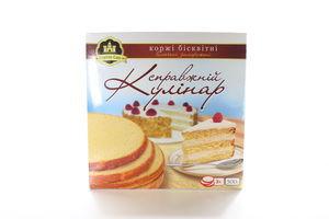 Коржі бісквітні випечені заморожені Справжній Кулінар Kingdom Cake 500г