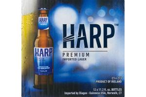 Harp Premium Imported Lager - 12 PK