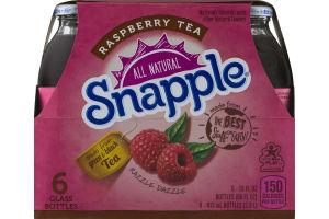 Snapple All Natural Raspberry Tea - 6 PK
