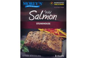 Morey's Wild Salmon Steakhouse Fillets - 2 CT
