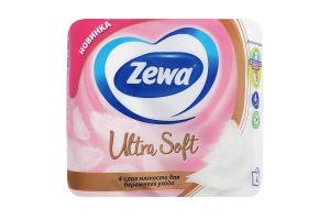 Туалетний папір Zewa Ultra Soft (білий) 4