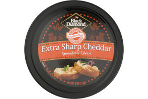 Black Diamond Extra Sharp Cheddar Spreadable Cheese
