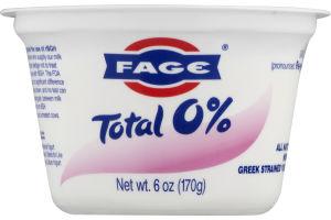 Fage Total 0% Yogurt Greek Strained All Natural-Nonfat