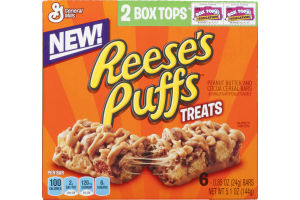 General Mills Reese's Puffs Treats - 6 CT