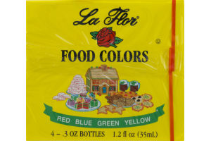 La Flor Food Colors