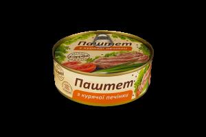 Паштет з курячої печінки L'appetit з/б 240г