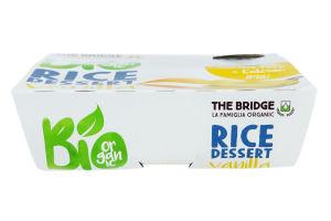 Десерт рисовый The Bridge с ванилью органический