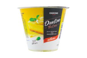 Десерт 5.5% кисломолочный Лимонный тарт The Cake Даніссімо ст 200г