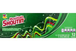 Ahold Mountain Shoutin Soda - 12 CT