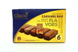 Морозиво Glacio Карамель-шоколад 6*36г