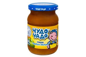 Пюре для детей от 4мес Тыква-Яблоко Чудо-Чадо с/б 170г